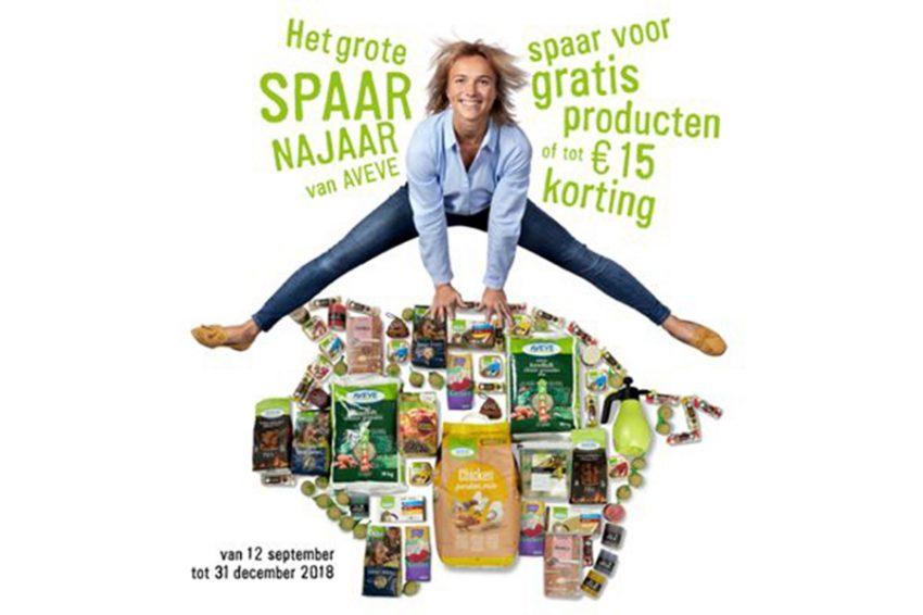 Spaar voor gratis producten of een korting tot € 15 korting