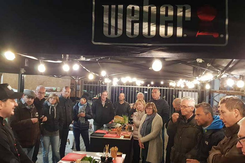 WEBER workshop BBQ de Luxe met Vinvino Wine Bar 29/09/2019