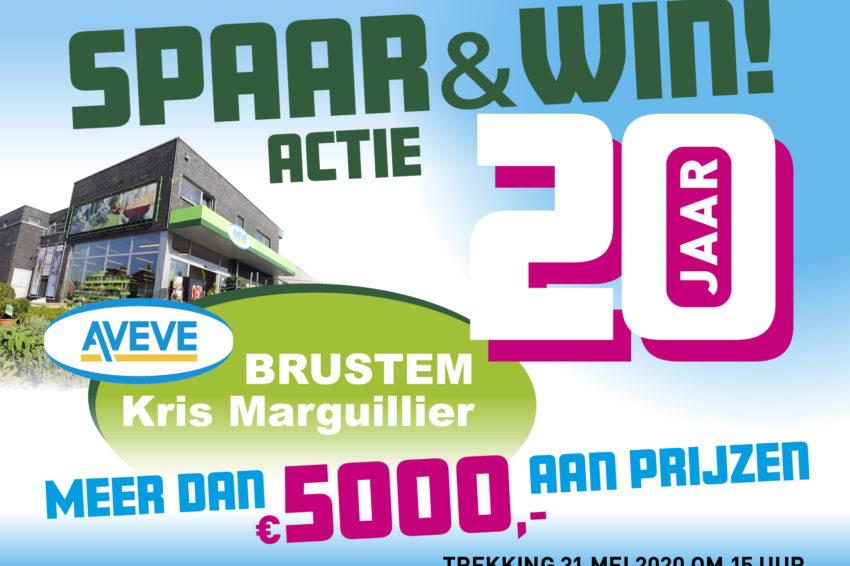 Spaar & Win Actie!